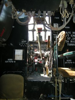 Witchcraft interior: facing forward towards cockpit.
