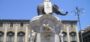Fontana dell'elefante Catania