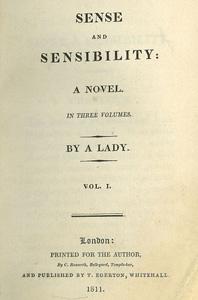 Sense and sensibility - 1811