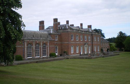 Godmersham Park: facciata posteriore