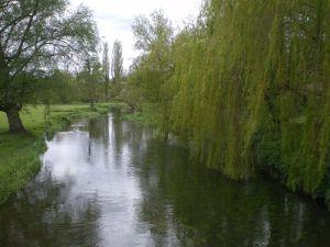 Godmersham Park: il fiume Stoure