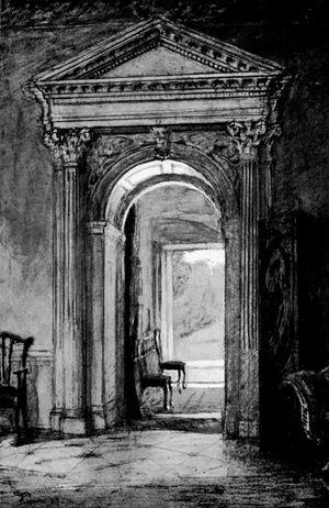 Ellen Hill: Atrio di Godmersham House
