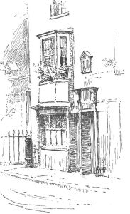 La casa di Jane Austen in College Street, Winchester, ill. di Ellen Hill