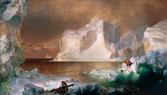 Frederic Edwin Church, Gli iceberg (1861)