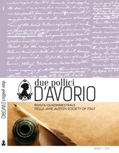 I-IV di copertina DPdA Anno 1 - 2015