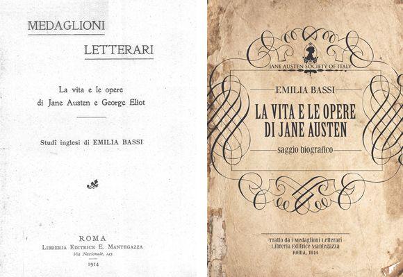 Il frontespizio dell'originale e la copertina dell'edizione JASIT