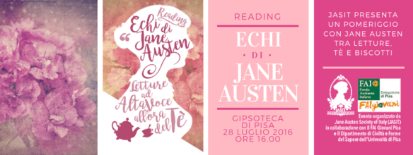 Echi di Jane Austen - JASIT Reading Pisa