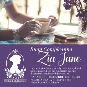 tè sociale JASIT per il compleanno di Jane Austen
