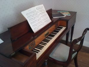 Chawton Cottage, il pianoforte Clementi