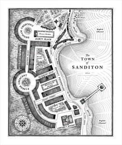 Sanditon Map - Sanditon, ITV-PBS 2019