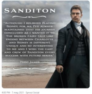 Sanditon, annuncio di Theo James