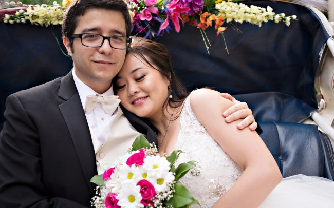 Connie & Paquito's Summer Wedding Session in Montreal's Vieux-Port