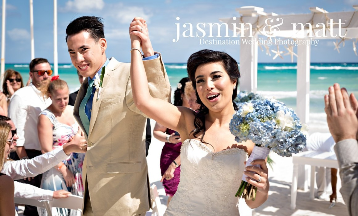 Melissa & Chris's Lively Wedding & Beach Bash at Grand Palladium Riviera Maya