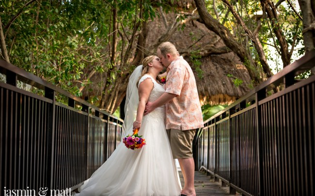 Debbie & Kris's Calm & Close-Knit Destination Wedding at Sandos Caracol Eco Resort