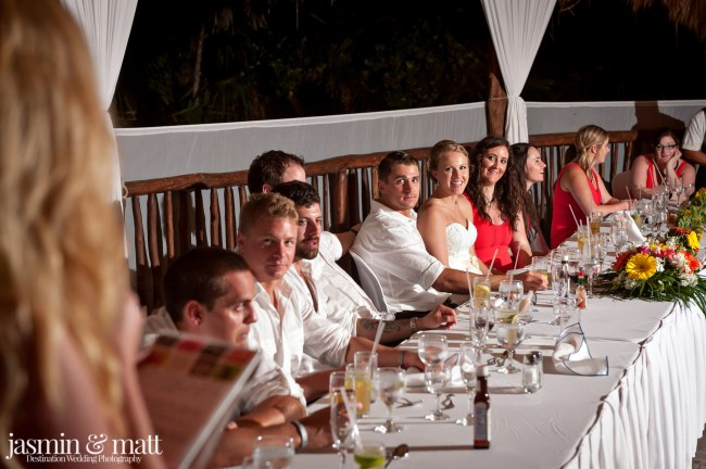 Katelyn & Jason's Overcast yet Fun Destination Wedding at Grand Sirenis Riviera Maya