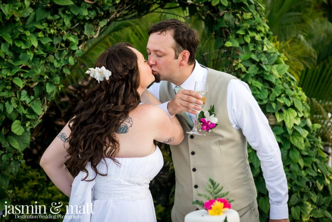 Kayla & Aaron's Charmingly Sweet Destination Wedding at Jewel Runaway Bay in Jamaica