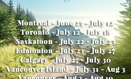 Canada Road Trip Summer 2017