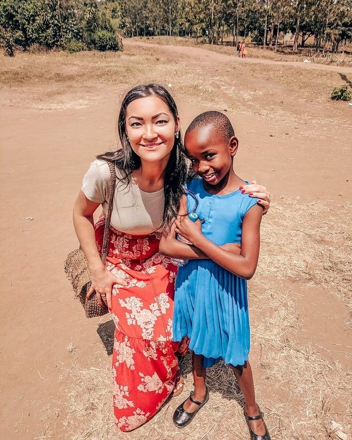 best family rwanda sponsor meeting sponsor child