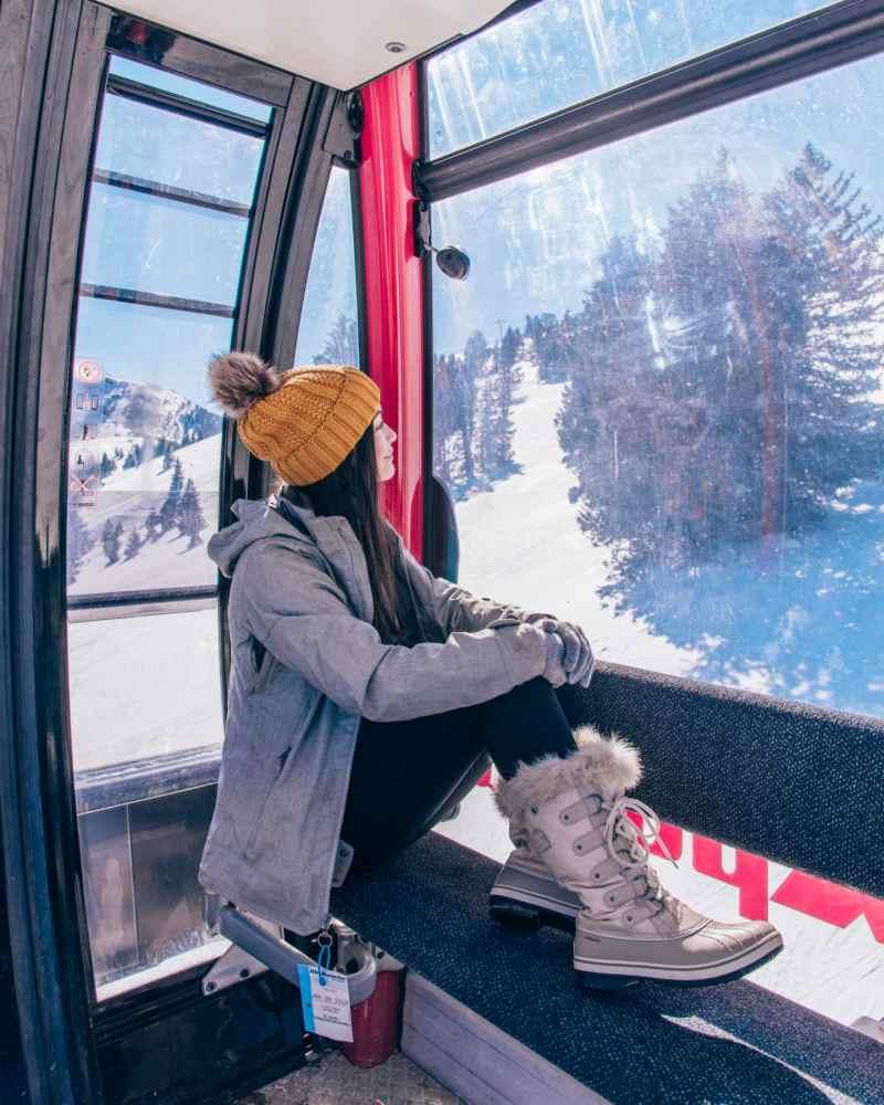 ski apache gondola