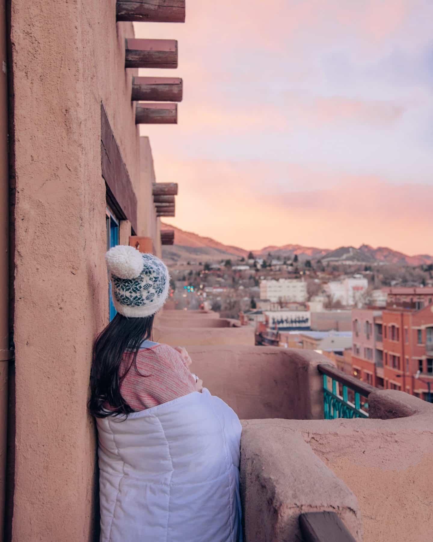 Sunrise from Table Mountain Inn, Golden, CO