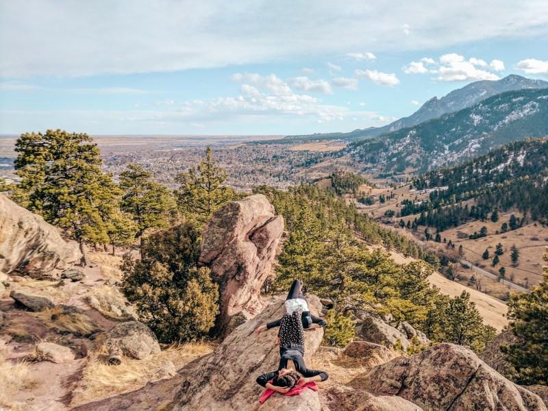 Mount Sanitas, Boulder - a hidden gem near Denver, Colorado.