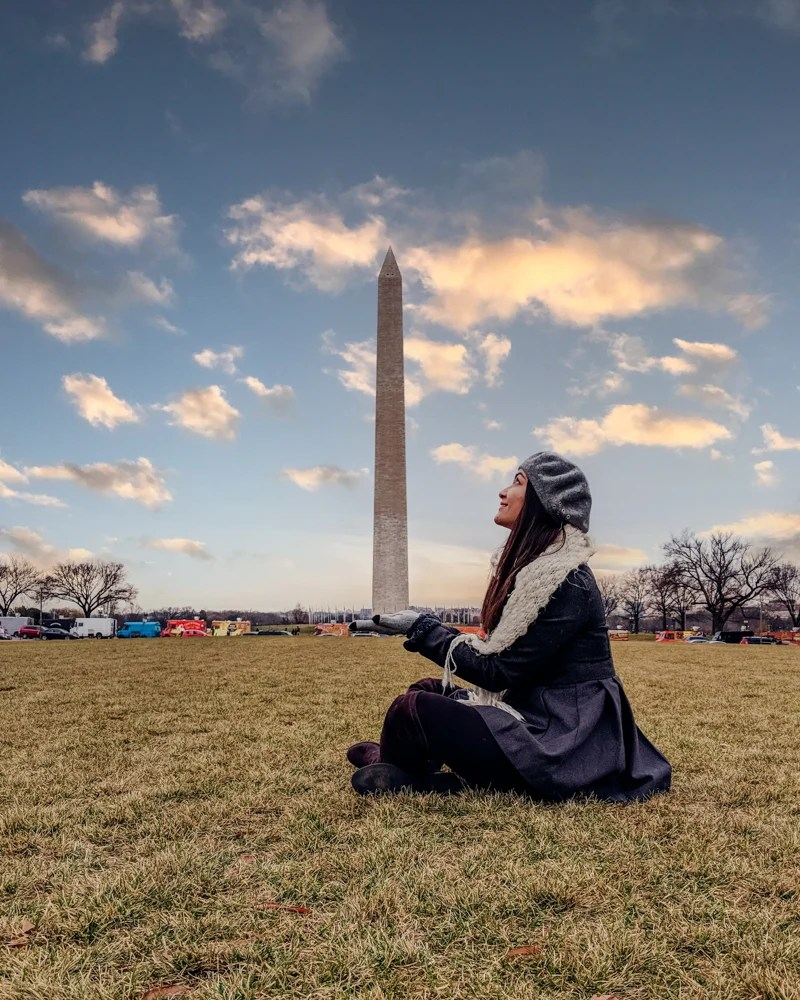 washington monument creative photo