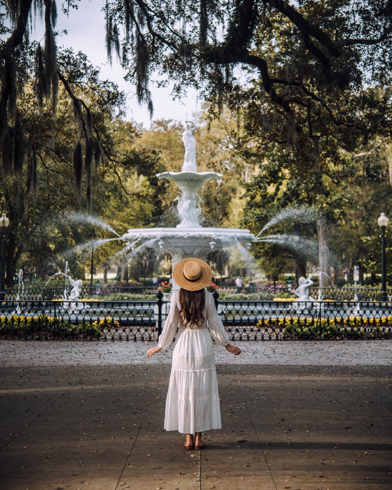 Forsyth Park fountain Savannah