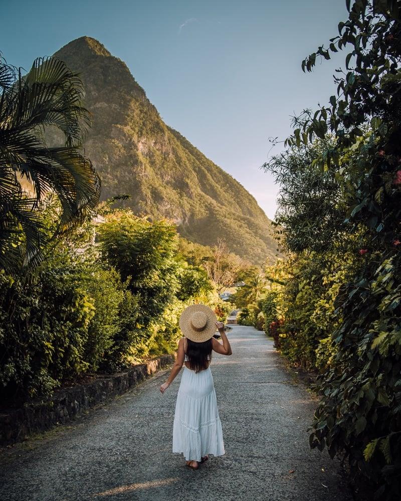 Gros Piton in Saint Lucia