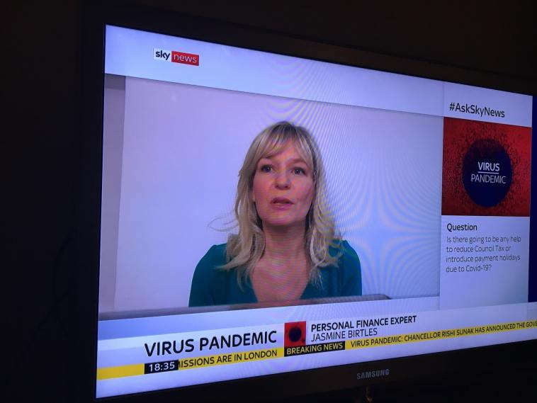 Sky News Jasmine Birtles