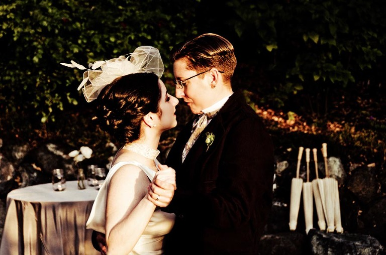 Adrienne Amp Bethann An Elegant Victorian Wedding At