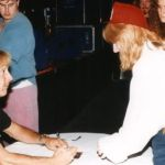 ...with Peter Criss (dr), KISS Convention Augsburg, August, 21st 1994