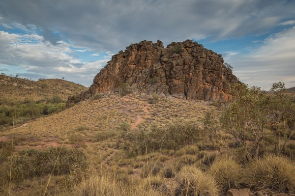 Corroboree Rock, East MacDonnell Ranges