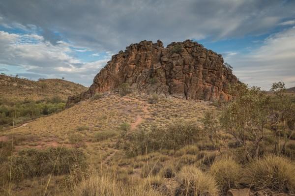 Corroboree Rock, East MacDonnell Ranges