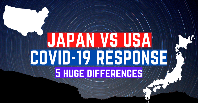 Japan vs USA COVID-19 Response