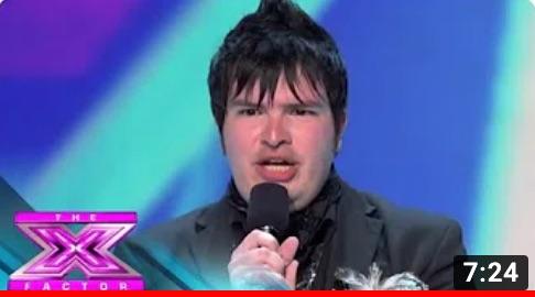 Jason Brock X-Factor Finalist