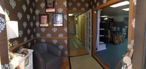Front door of Jason Brown Wood Floors showroom