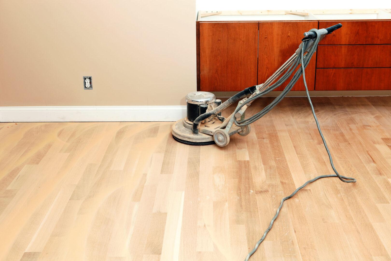 Refinish Your Hardwood Floor