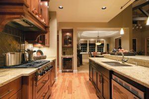 Hardwood Flooring in the Kitchen