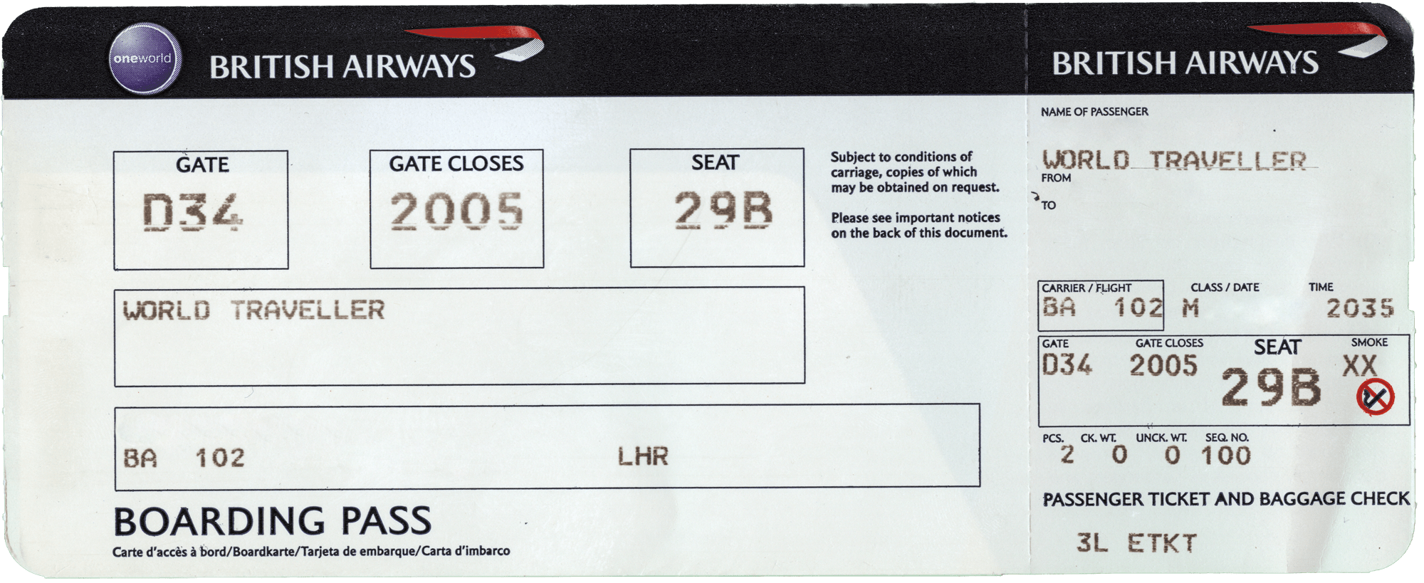 Fake Plane Ticket Template make a novelty airline ticket for fun – Plane Ticket Template
