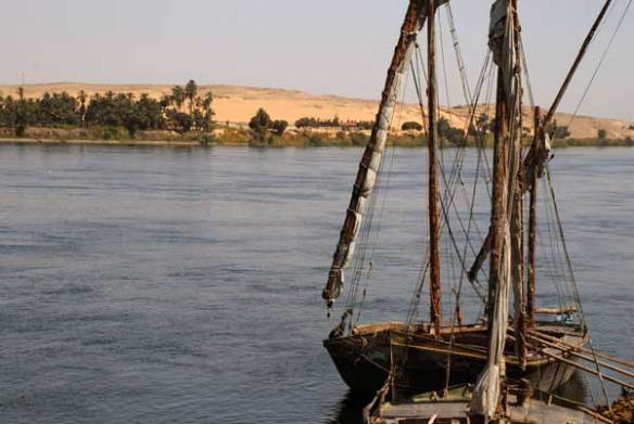 Felucca on River Nile.