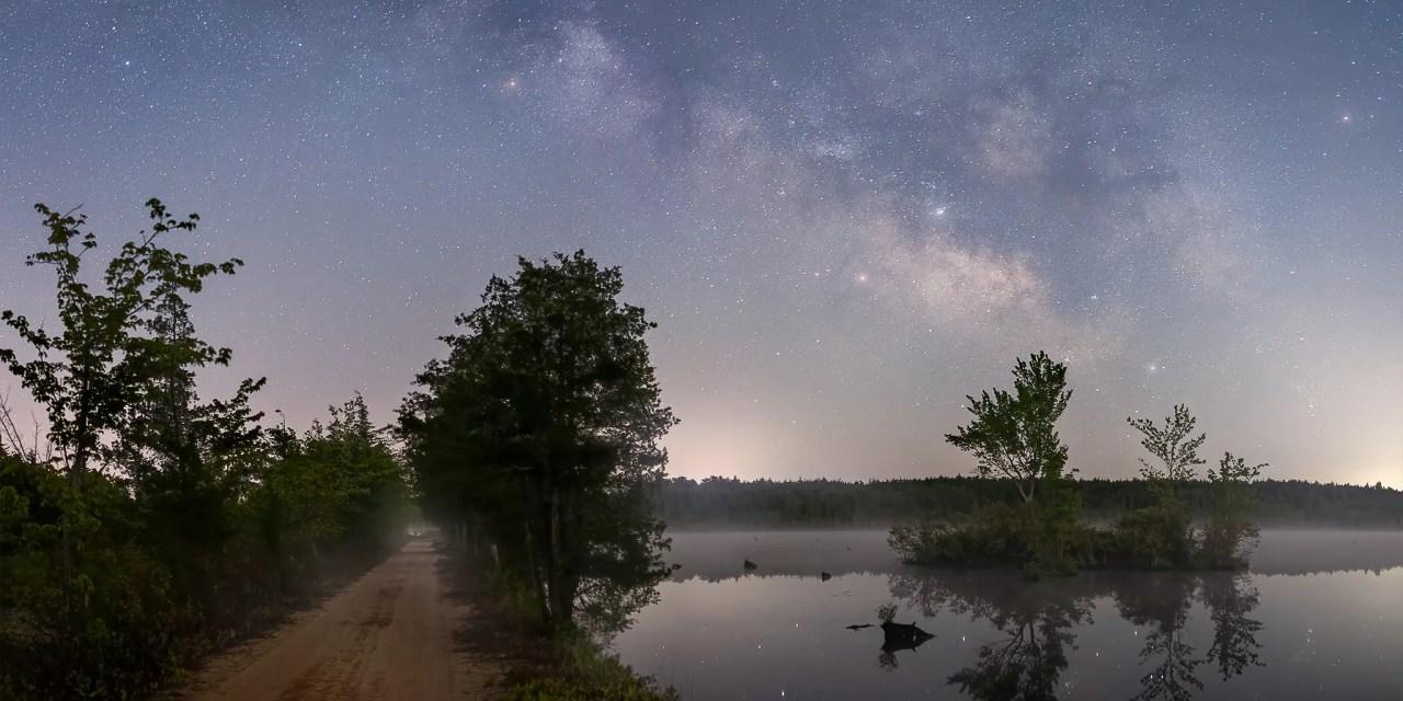 Pine Barrens Milky Way