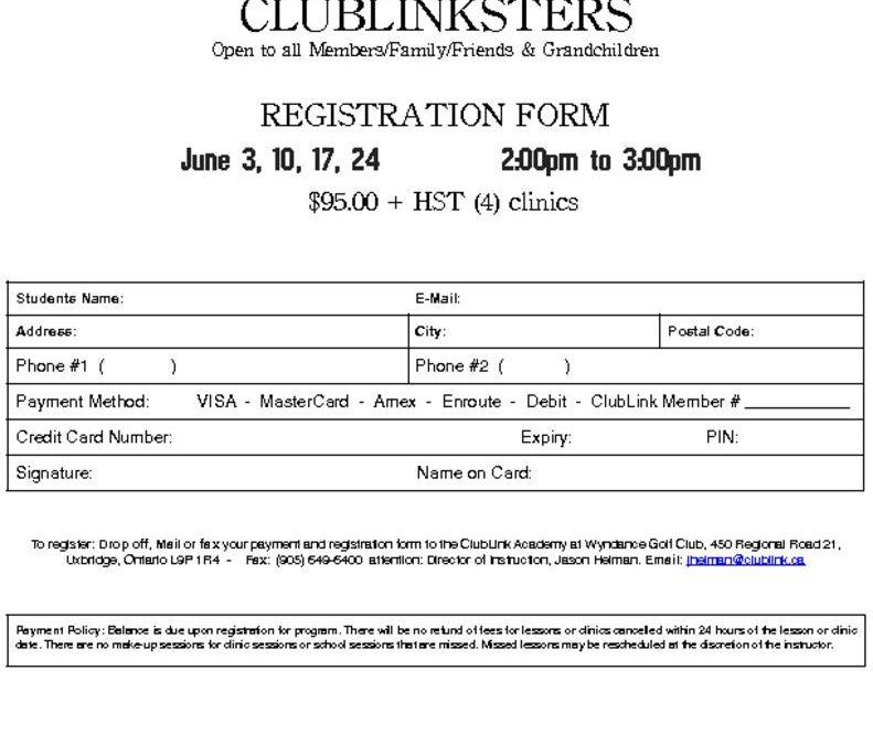 thumbnail of 2017 Wyndance ClubLinkster Registration Form