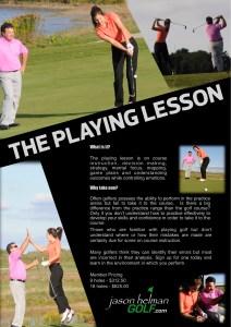 Jason Helman Golf The Playing Lesson best golf coach