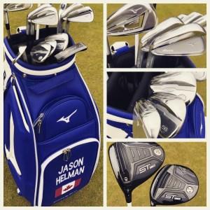 Jason Helman Golf Whats in the bag Mizuno Golf #WITB