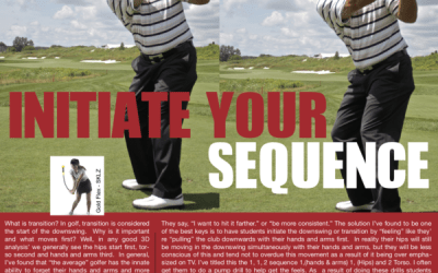 Transition – Initiate Your Sequence