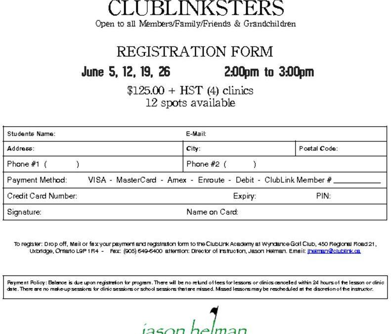 thumbnail of 2021 Wyndance ClubLinkster Registration Form