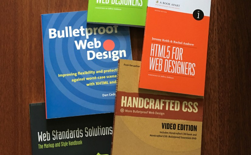 Some of My Favorite Books on Web Design