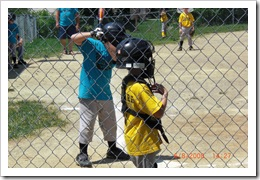 Ryan as the catcher