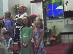 Allison at church
