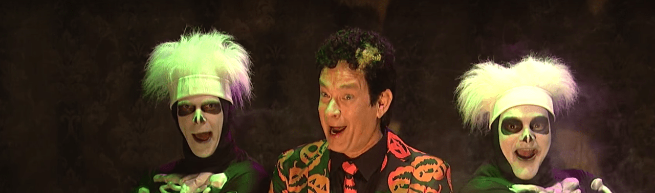 David S. Pumpkins will make your Halloween.
